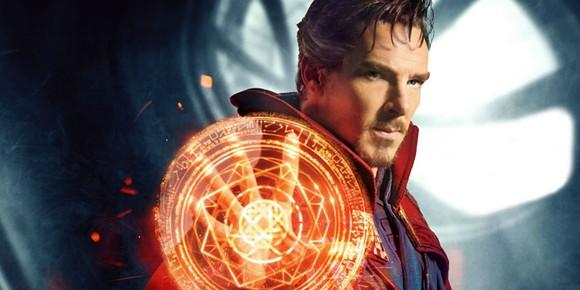 Benedict Cumberbatch as Marvel's Doctor Strange