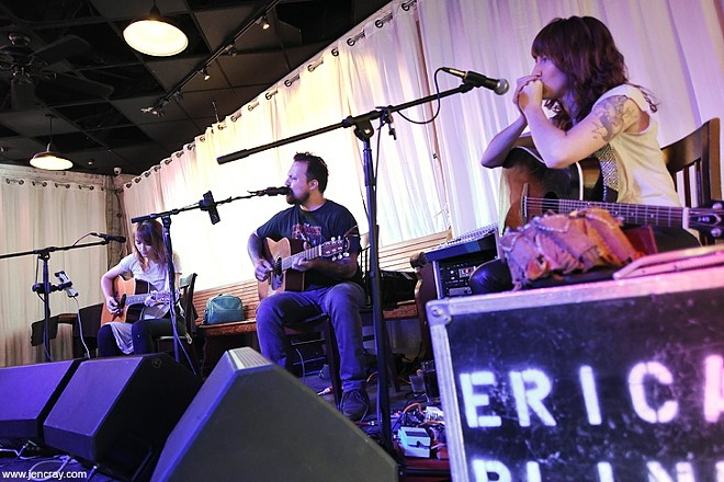 Hannah Harber, Thomas Wynn and Erica Blinn at Dexter's Winter Park - JEN CRAY