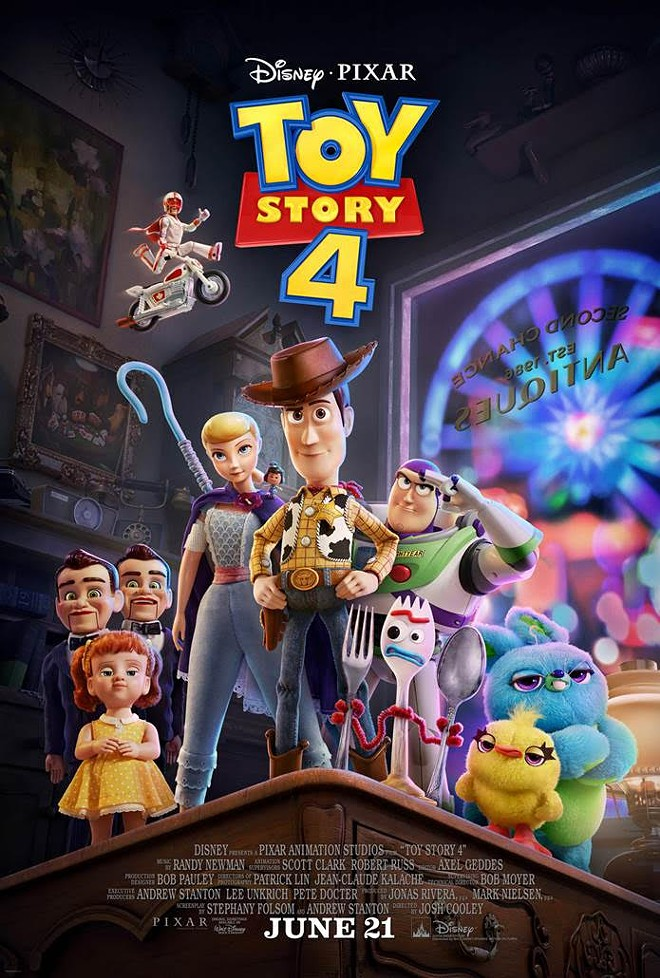 Bo Peep as seen in the Toy Story 4 movie poster