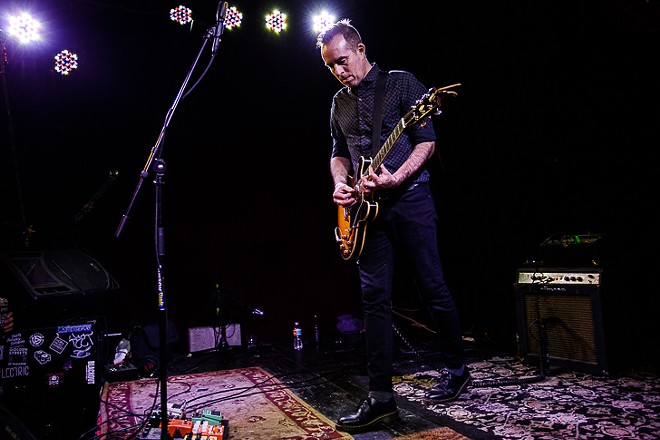 Ted Leo at Will's Pub - JAMES DECHERT