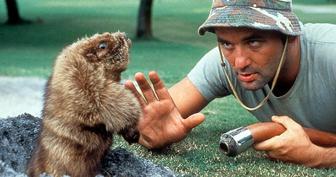 Bill Murray in Caddyshack - PHOTO COURTESY OF WARNER HOME VIDEO