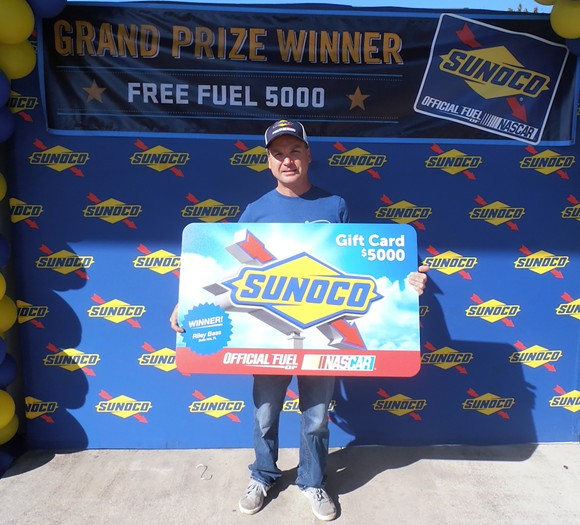Riley Bass, of Belle Isle, won $5,000 of free gas from Sunoco. - PHOTO VIA SUNOCO FREE FUEL