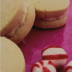 Jane's shortbread cookies filled with peppermint buttercream. - IMAGE COURTESY JANE'S SHORT & SWEET ON FACEBOOK
