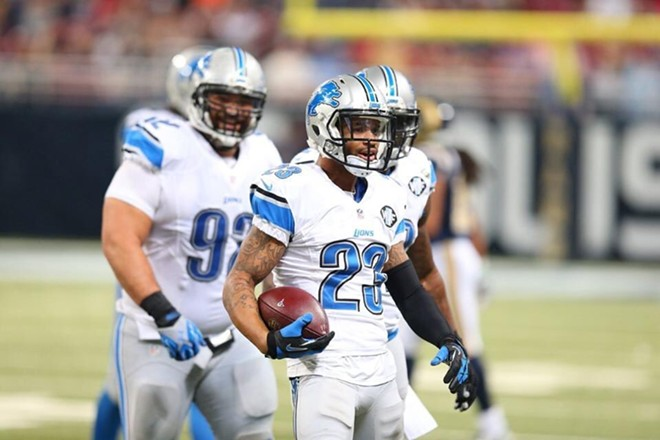 best website 1cccb 4414a Detroit Lions player 'mad' Pro Bowl is in Orlando | Blogs