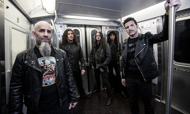Anthrax - PHOTO VIA ANTHRAX/FACEBOOK