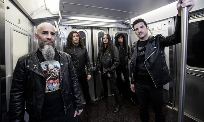 Anthrax - PHOTO VIA ANTHRAX/FACEBOOK