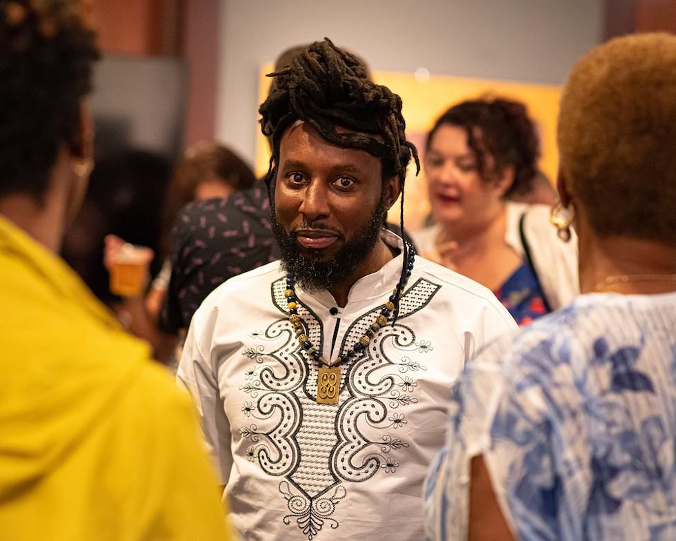 Mercury Collective director Jamal Ward came to Orlando from Philadelphia in 2012. - PHOTO BY MATT KELLER LEHMAN