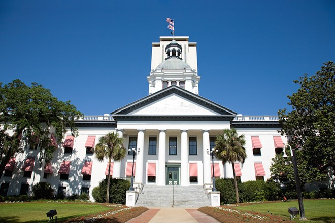 PHOTO OF FLORIDA CAPITOL BUILDING IN TALLAHASSEE VIA ADOBE
