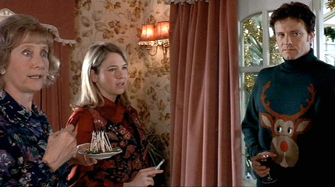 "The famous New Year's Day turkey curry buffet depicted in ""Bridget Jones' Diary"""