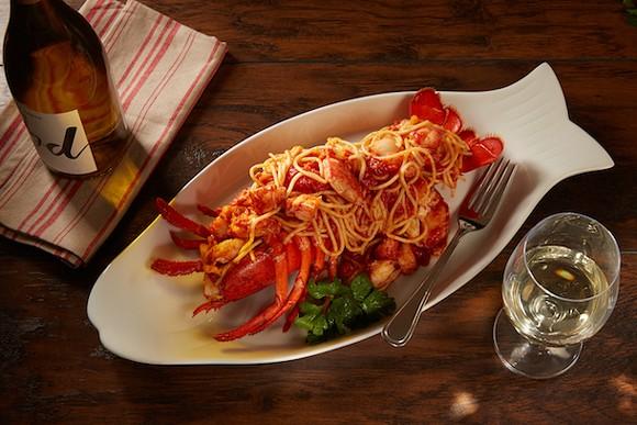 Lobster Feast Fra Diavolo - PHOTO VIA DISNEY