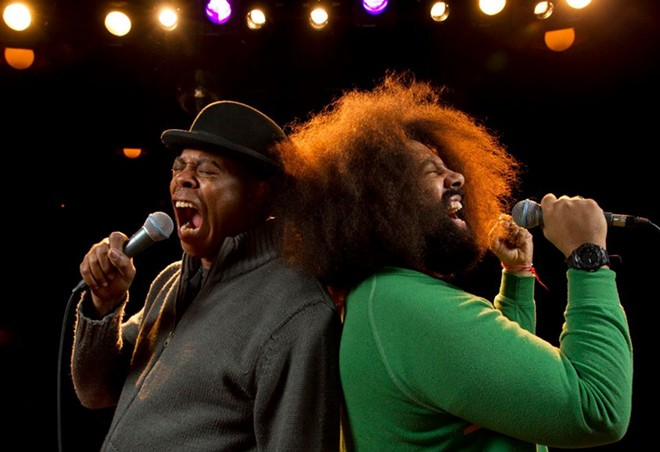 Michael Winslow and Reggie Watts - PHOTO VIA MICHAEL WINSLOW/FACEBOOK