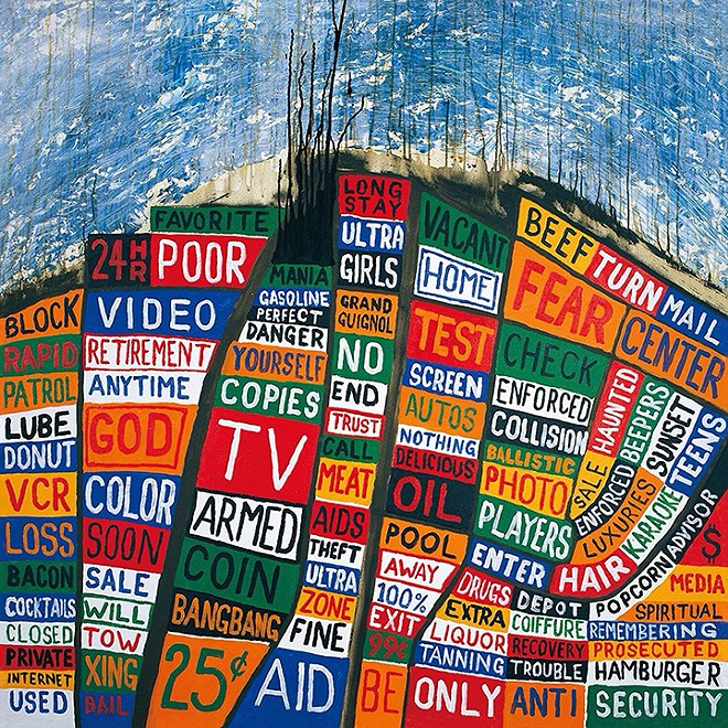Cover of Radiohead's 2003 album Hail to the Thief