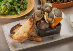 Skillet roasted clams - PHOTO COURTESY CHROMA