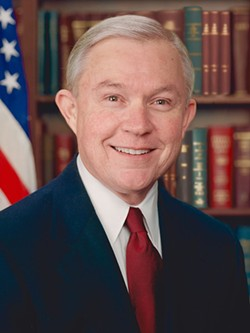 Jeff Sessions official portrait - PUBLIC DOMAIN