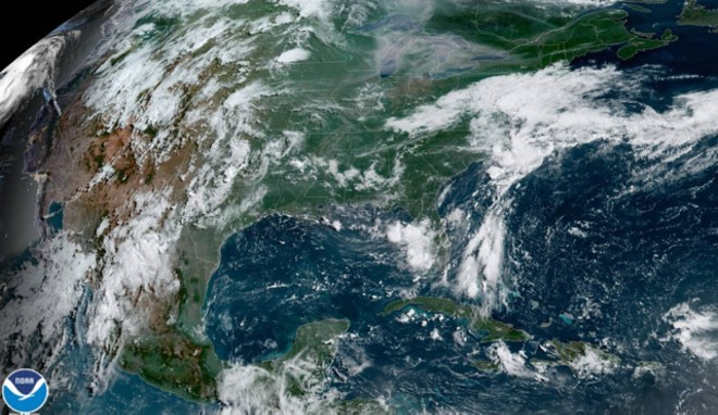 Tropical Storm Barry - PHOTO VIA NATIONAL OCEANIC AND ATMOSPHERIC ADMINISTRATION