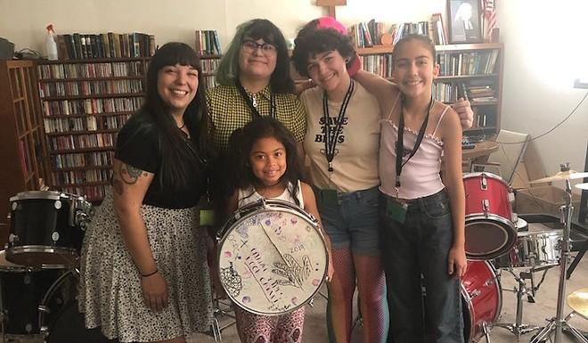 Orlando Girls Rock Campers and Volunteers - PHOTO VIA ORLANDO GIRLS ROCK/FACEBOOK