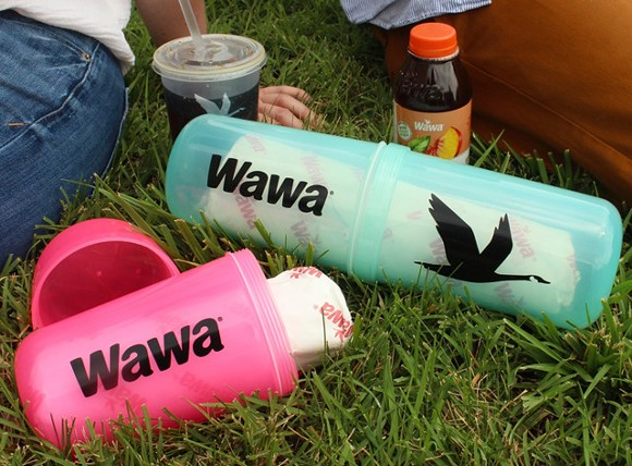 The SubSafe, an invention by a Port Orange married couple, can be used by boaters to mix drinks and protect their precious Pub Subs. - PHOTO VIA WAWA/FACEBOOK