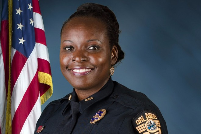 Master Sergeant Debra Clayton, Orlando law enforcement officer allegedly shot and killed by Loyd. - PHOTO VIA ORLANDO POLICE DEPARTMENT
