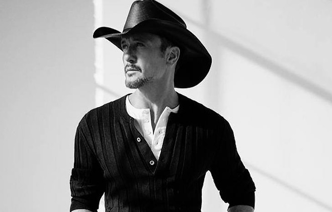 Tim McGraw - PHOTO VIA TIM MCGRAW/FACEBOOK