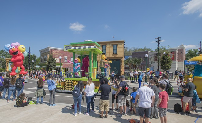 The Sesame Steet land at SeaWorld Orlando is home to the park's first parade. - PHOTO VIA SEAWORLD ORLANDO