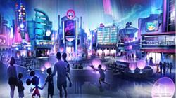 Le pavillon à thème de jeux d'Epcot - LE BLOGUE DES PARCS IMAGE VIA DISNEY