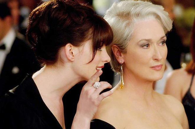 Anne Hathaway and Meryl Streep in The Devil Wears Prada - IMAGE COURTESY OF 20TH CENTURY FOX