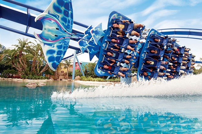 SeaWorld's Manta - PHOTO VIA VISIT ORLANDO
