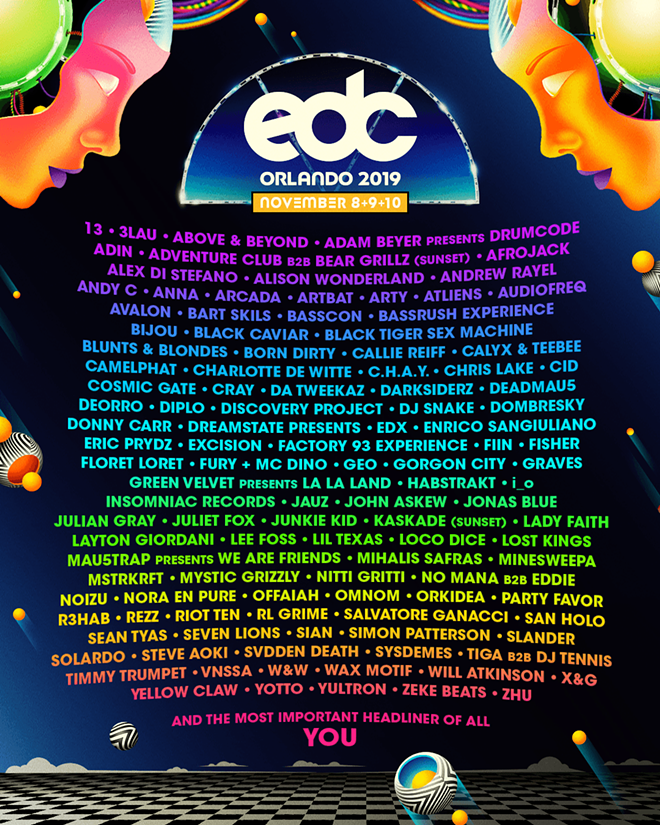 Orlando S Electric Daisy Carnival Just Announced Full