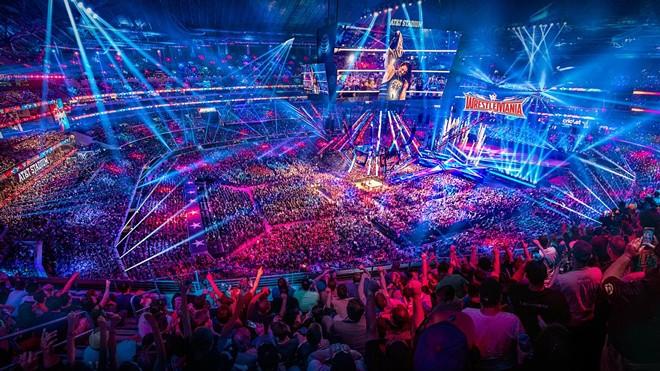 Wrestlemania - PHOTO VIA WWE
