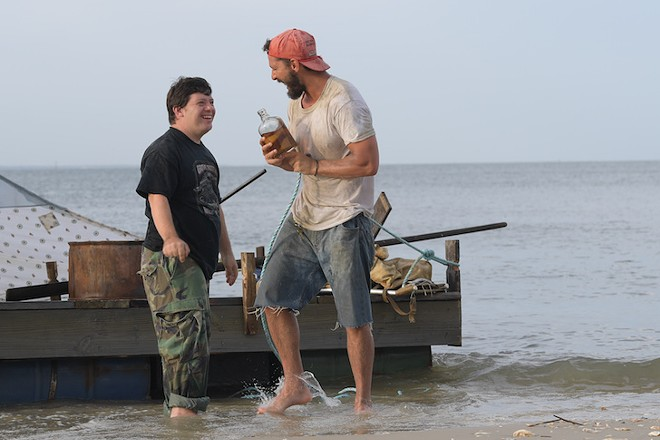 Zack Gottsagen and Shia LaBeouf in The Peanut Butter Falcon - PHOTO COURTESY OF ROADSIDE ATTRACTIONS AND ARMORY FILMS