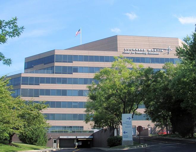 Lockheed Martin Bethesda headquarters - BY COOLCAESAR VIA WIKIMEDIA COMMONS