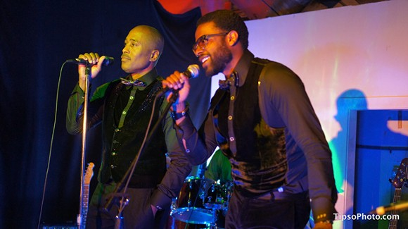 Ali Shaheed Muhammad and Adrian Younge with the Midnight Hour at Iron Cow - MICHAEL LOTHROP
