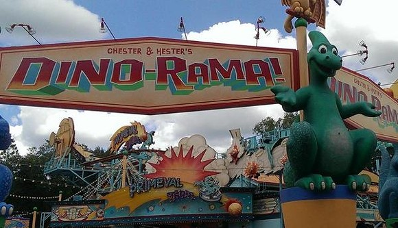 Dino-Rama at Disney's Animal Kingdom - IMAGE VIA MARKYDEEDROP | TWITTER