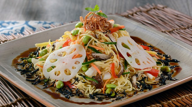 Shiriki noodle salad from Jungle Navigation Co. Ltd Skipper Canteen at Magic Kingdom Park - PHOTO VIA WALT DISNEY WORLD