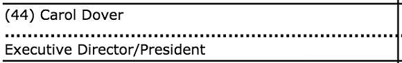 SCREENSHOT OF IRS FORM 990/PROPUBLICA