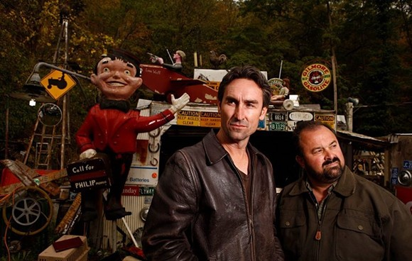PHOTO VIA HISTORY CHANNEL/AMERICAN PICKERS