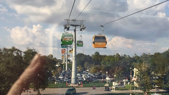IMAGE OF THE SKYLINER ON SEPT. 30 VIA DENISE AT MOUSESTEPS/TWITTER