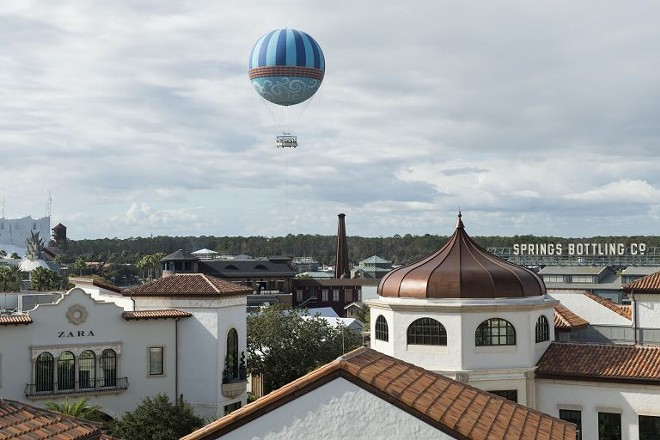 The Aerophile balloon ride at Disney Springs - IMAGE VIA AEROPHILE