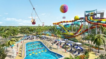 Thrill Waterpark at CocoCay, Royal Caribean's private island - IMAGE VIA ROYAL CARIBBEAN