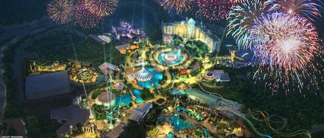 Universal Orlando's Epic Universe park - IMAGE VIA NBCUNIVERSAL