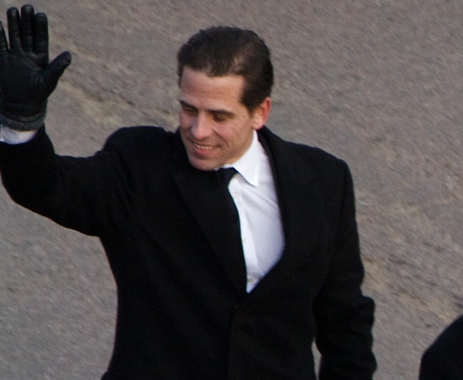 Hunter Biden walked in Barack Obama's 2009 presidential inaugural parade - PHOTO VIA WIKIMEDIA COMMONS