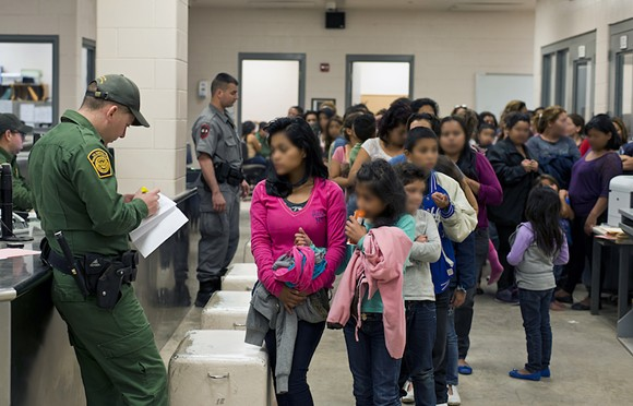 U.S. Customs and Border Protection provide assistance to unaccompanied migrant children at the south Texas border - PHOTO VIA WIKIMEDIA COMMONS