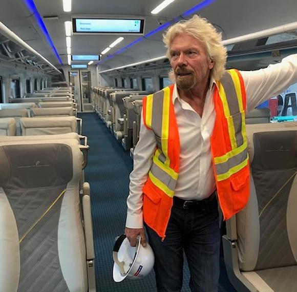 Virgin Group founder Richard Branson - PHOTO VIA VIRGIN