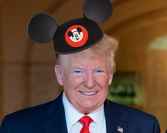 IMAGES VIA THE WHITE HOUSE/WIKIMEDIA COMMONS AND SHOPDISNEY.COM