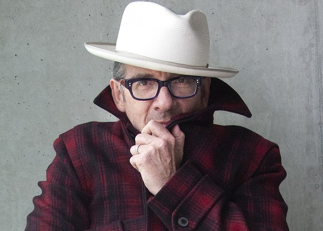 Elvis Costello - PHOTO BY JAMES O'MARA