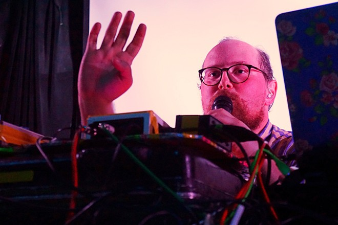 Dan Deacon at Will's Pub - JIM LEATHERMAN