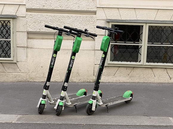 Lime and other motorized scooters could be on Orlando streets as soon as early next year - PHOTO BY BEBENOÎT PRIEUR/WIKI COMMONS