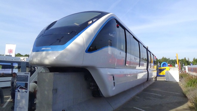INNOVIA MONORAIL PHOTO BY BOMBARDIER TRANSPORTATION/WIKIMEDIA COMMONS