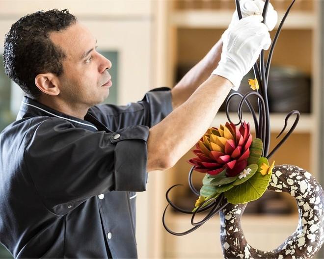Rabii Saber, demi-finaliste du chef pâtissier exceptionnel JBF 2018 - QUATRE SAISONS ORLANDO
