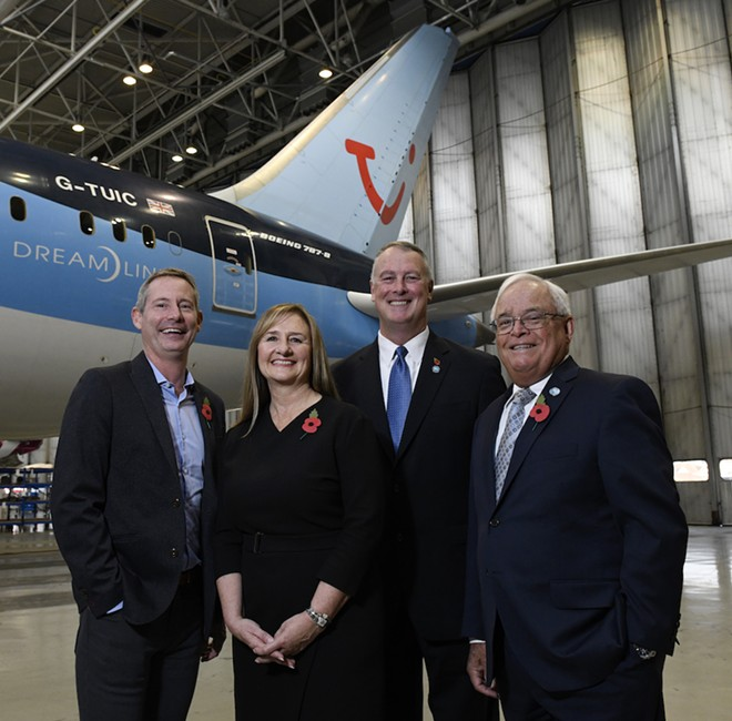 FLINTHAM, WILSON, DONOVAN AND RYALS PHOTO VIA MELBOURNE INTERNATIONAL AIRPORT